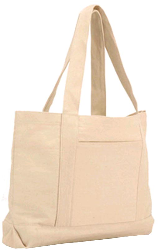 Plain Canvas Tote Bag