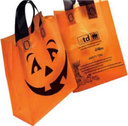 Halloween Bags insert lining into outer bag and press gently with iron to smooth out now these treat bags are ready for action perfect for trick or treating Halloween Candy Bags