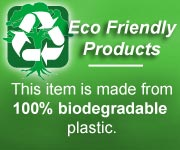 100% biodegradable plastic