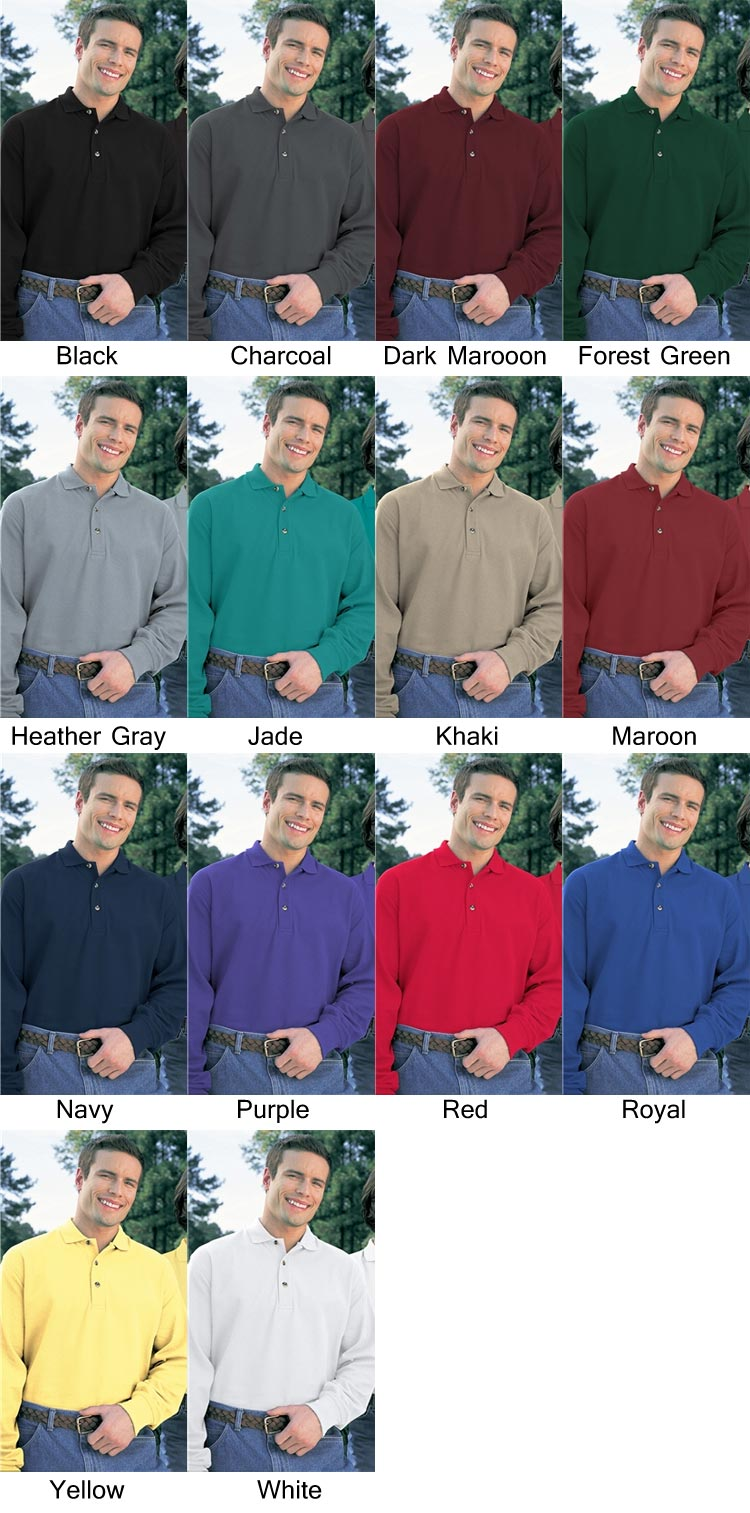 POLO SHIRTS FOR EMBROIDERY