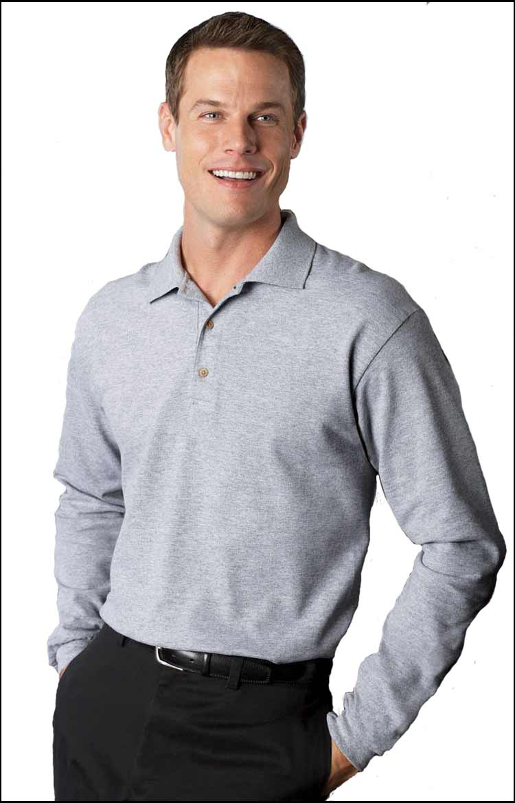 Long Sleeve Polo Shirts Embroidered Polo Shirts Custom