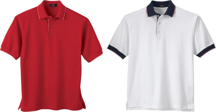 Workwear polo shirts embroidered polo shirts custom golf for Cheap custom embroidered polo shirts