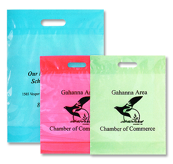 custom printed shopping bag and other promotional products.
