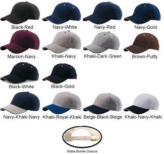 Custom Embroidered Cap - Large Selection of Baseball Caps